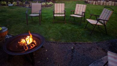 Photo of How to build a fire in a fire pit