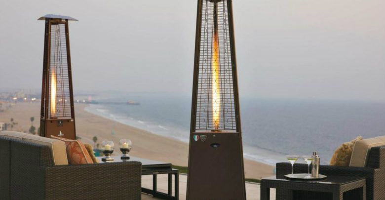 Photo of Outdoor heater usage