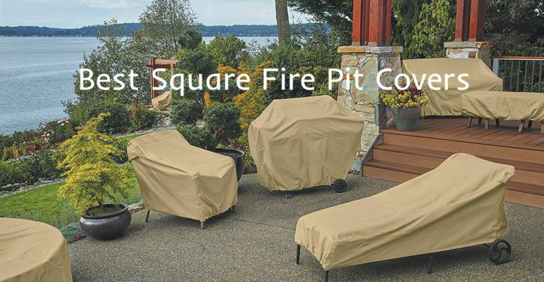 Photo of Best Square Fire Pit Covers
