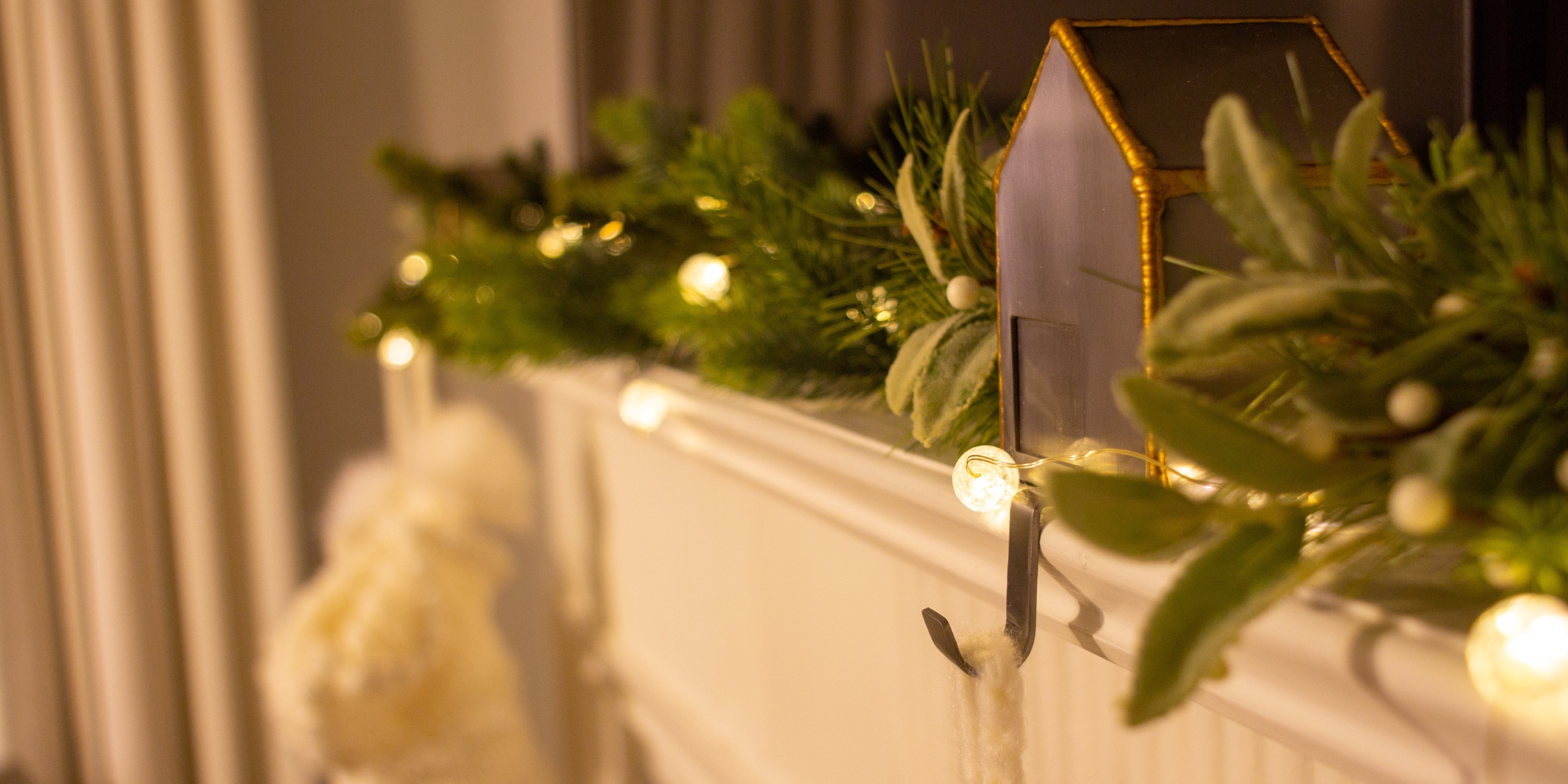christmas fireplace images