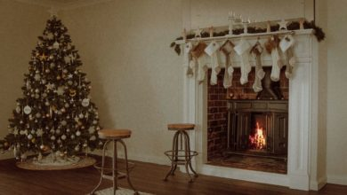 Photo of Festive Ideas for Fireplace Christmas Decorations